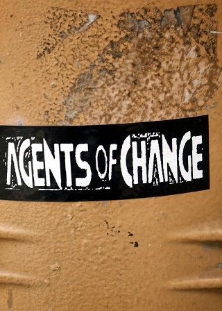 Agents of Change Sticker