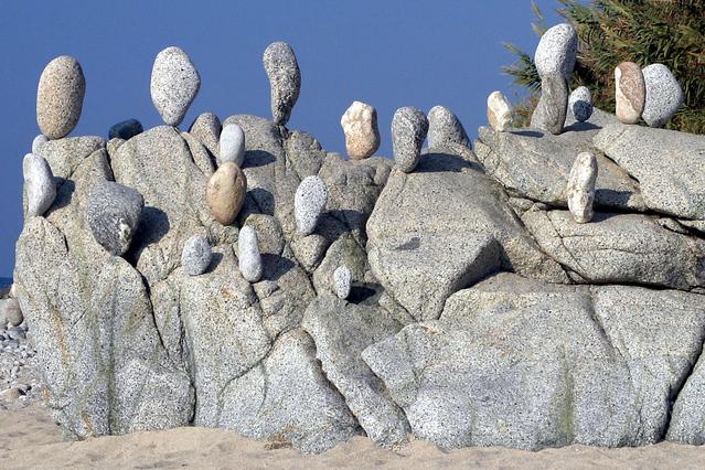 Rocks Balancing on Rocks
