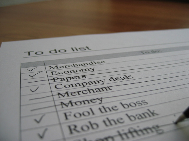 A ToDo List